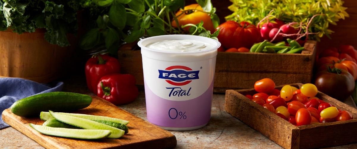 FAGE Total 0%: Nonfat Plain Greek Yogurt