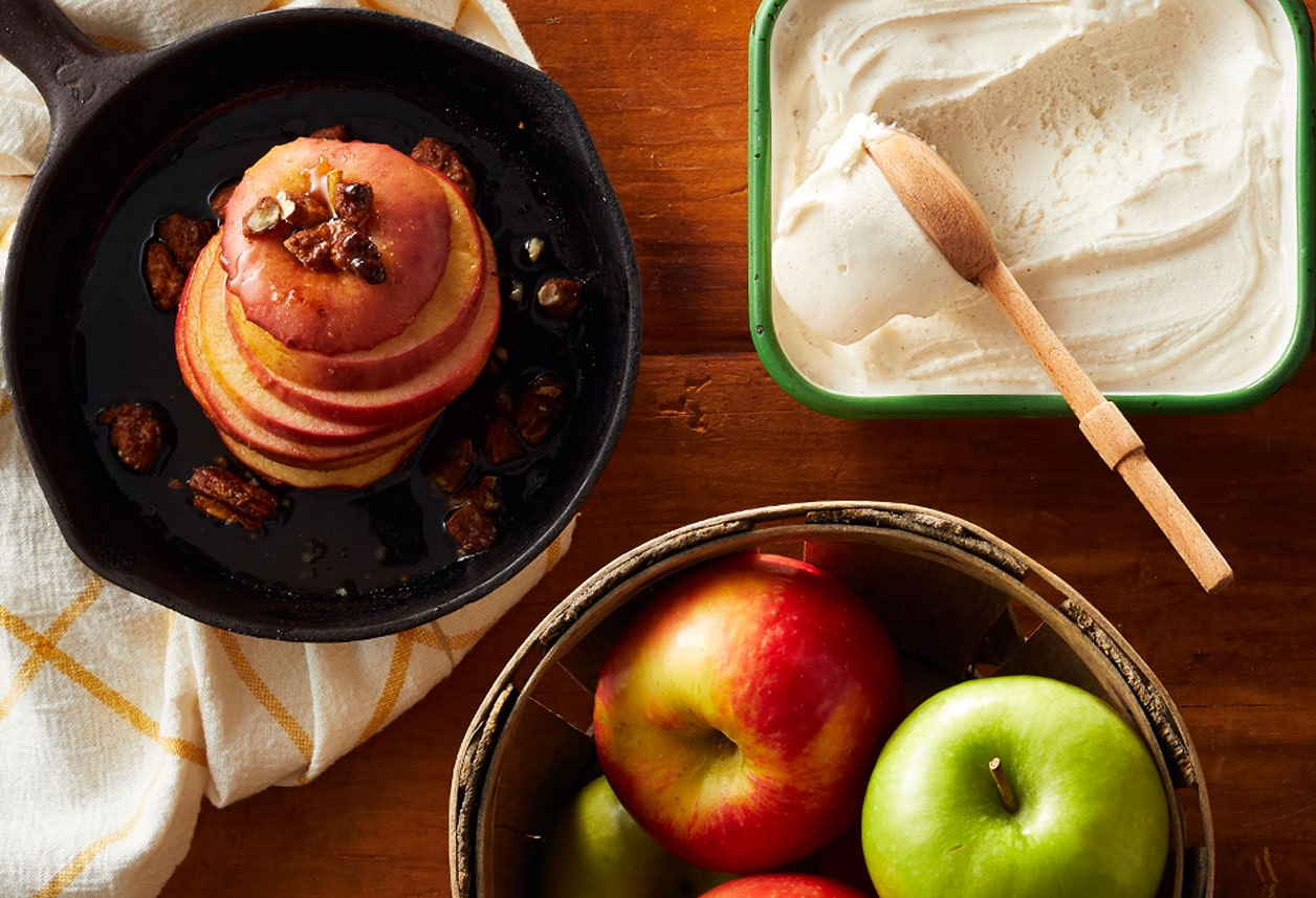 Baked Apple & Cinnamon Frozen Yogurt
