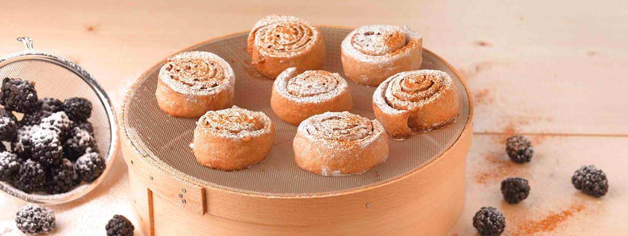 Cinnamon Buns with FAGE Total