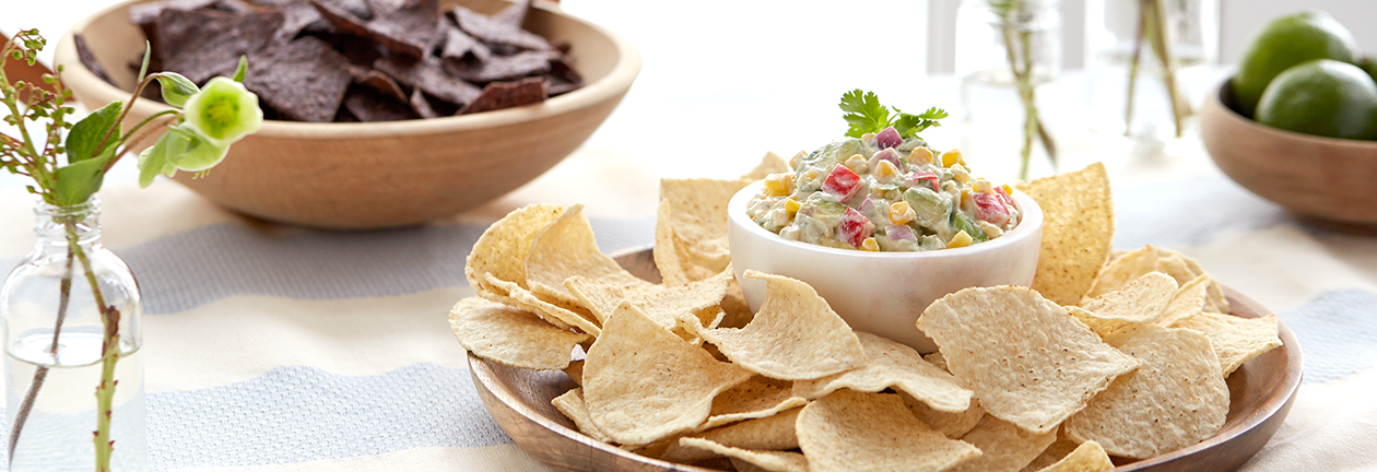 Corn and Avocado Salsa with FAGE Total