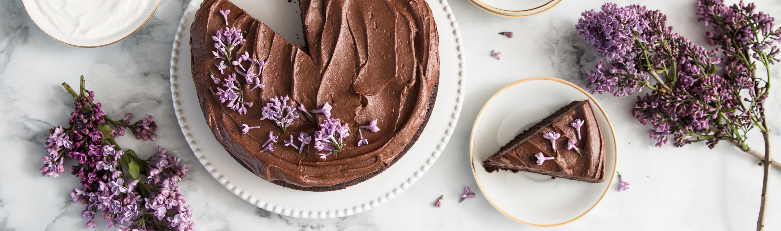 FAGE Double Chocolate Cake