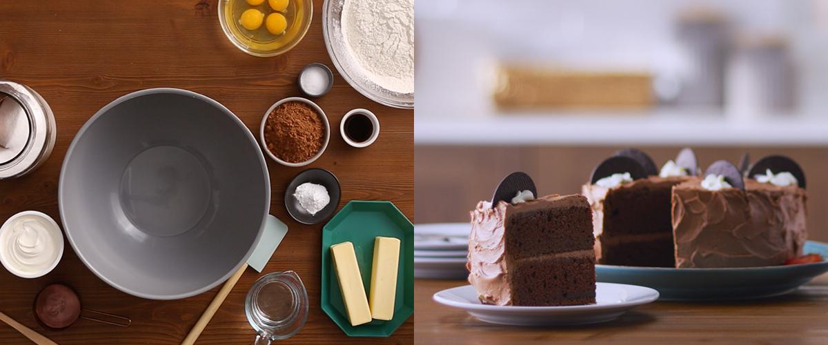 Sour Cream Chocolate Cake Fage Yogurt