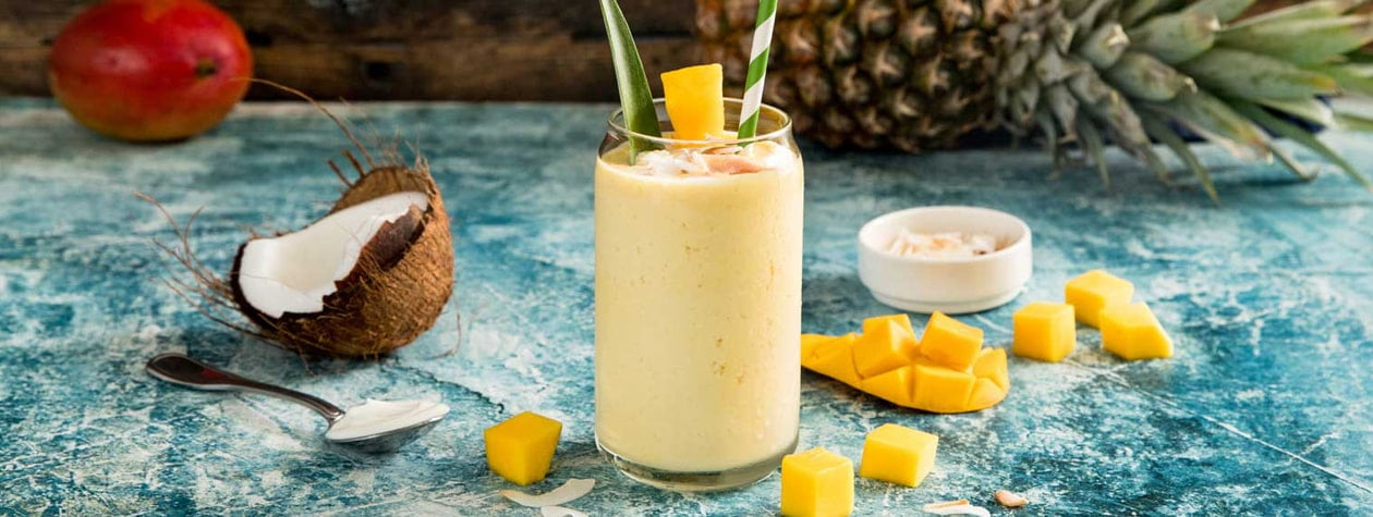 Tropical Pineapple-Coconut Smoothie