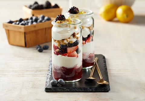 Maple Berry Parfaits