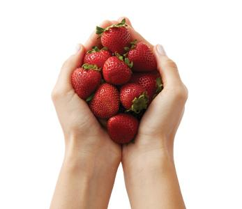 Strawberry Hands
