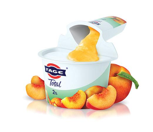 FAGE Total 2% Peach