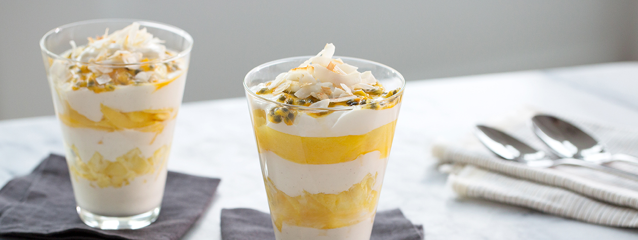 Tropical Fruit Parfait with FAGE Total