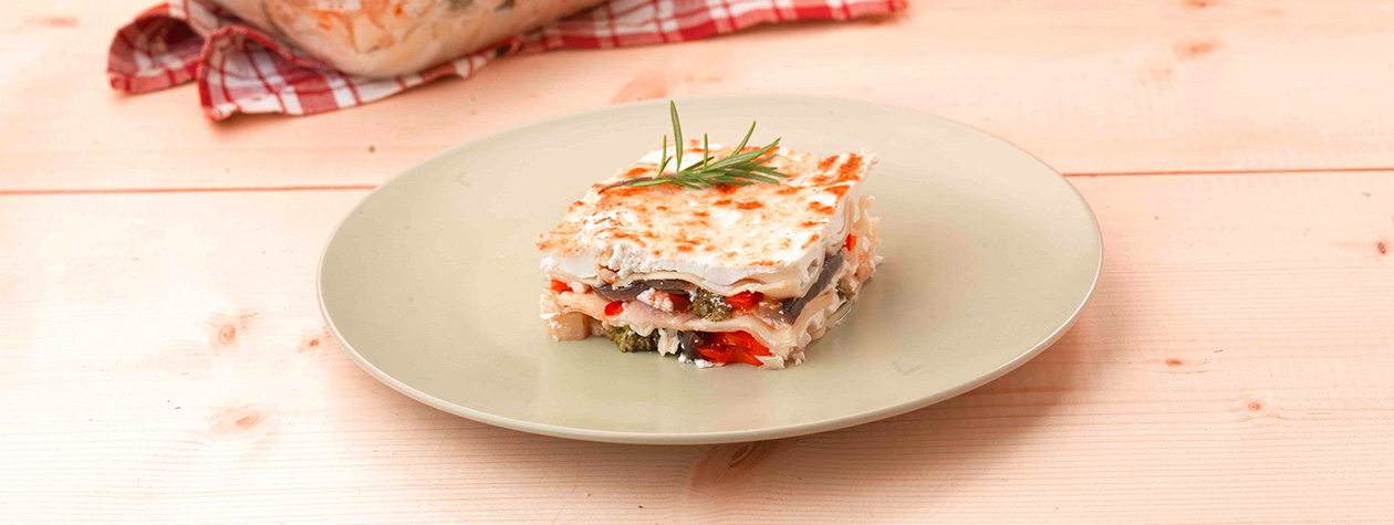 Vegetable Lasagna with FAGE Total